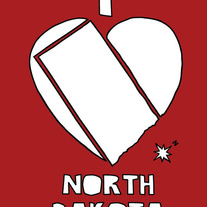 North Dakota love, 5x7 print