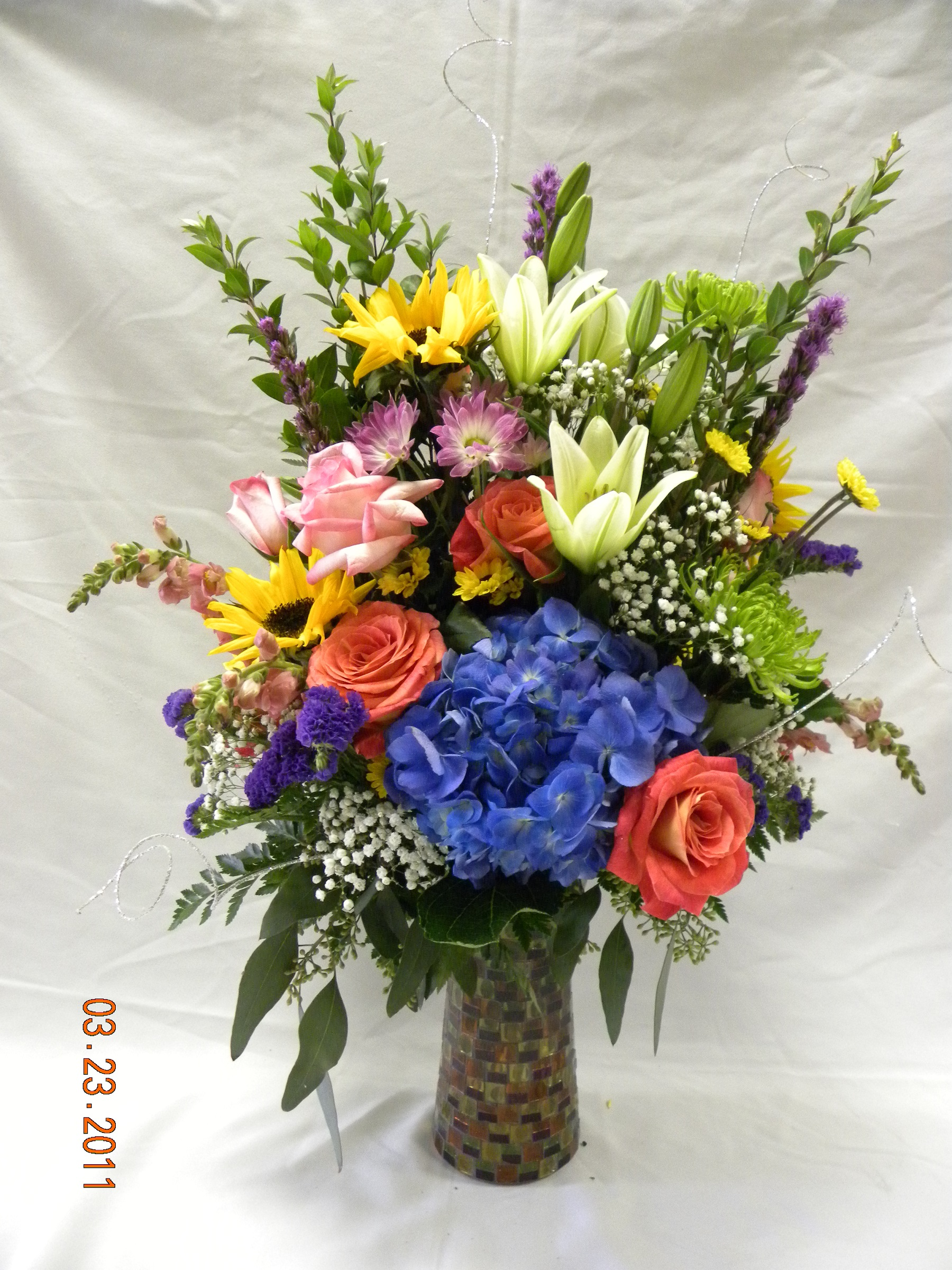 Birthday Bouquet · Ann\'s Flowers and Gifts · Online Store Powered by ...
