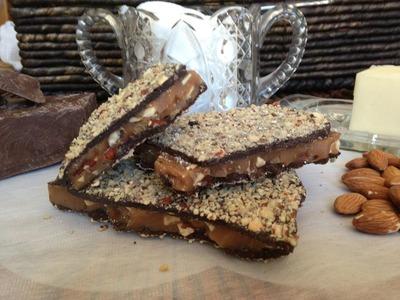 20 oz. Gourmet (Dark Chocolate) English Toffee