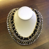 Extravagant Multi Chain Necklace