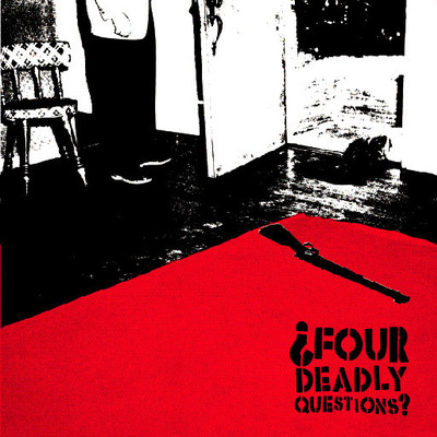 "Four deadly questions s/t 7"" - Thumbnail 3"