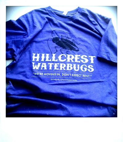 Hillcrest waterbugs new logo t - purple