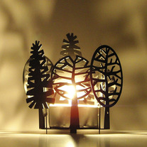 TREES - Votive Candle Holder