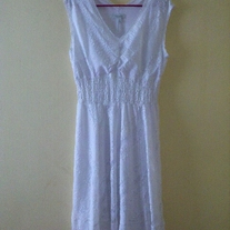 Dressbarn White Summer Dress