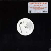 "Enrique Iglesias - Be With You (Remixes) 12"" Vinyl"