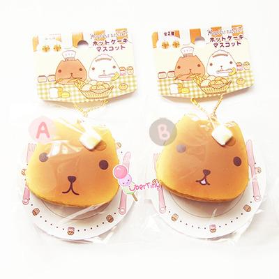 Rare Kawaii Squishy : Rare* kapibarasan pancake (buttered honey) squishy (licensed)