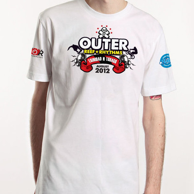 Orr's launch 2012 - p.o.s tee, white
