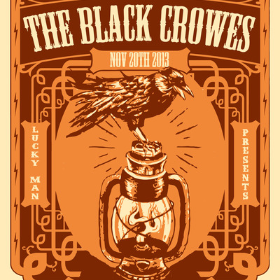 The black crowes 11/20/13 @ marquee theatre