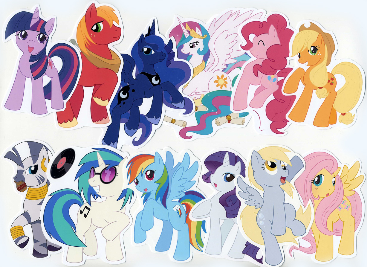 My little pony characters - photo#4