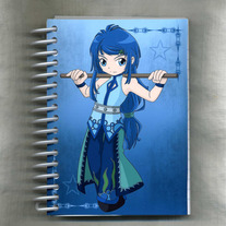 Notebook S - Elemental Chibi Bishonen: Water