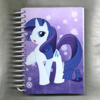 Notebook S - My Little Pony FiM: Rarity (Fanart)
