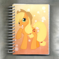 Notebook S - My Little Pony FiM: Applejack (Fanart)