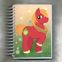 Notebook S - My Little Pony FiM: Big Mac (Fanart)