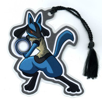Bookmark - Super Smash Bros. BRAWL: Lucario (Fanart)