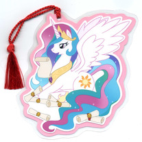 Bookmark - My Little Pony FiM: Princess Celestia (Fanart)
