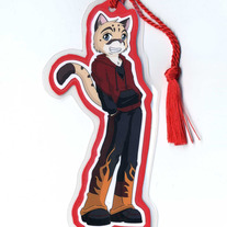 Bookmark - Raven Wolf - Kit Milford