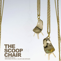 THE SCOOP CHAIR - SILVER