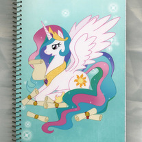 Notebook M - My Little Pony FiM: Princess Celestia (Fanart)