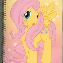 Notebook L - My Little Pony FiM: Fluttershy (Fanart)