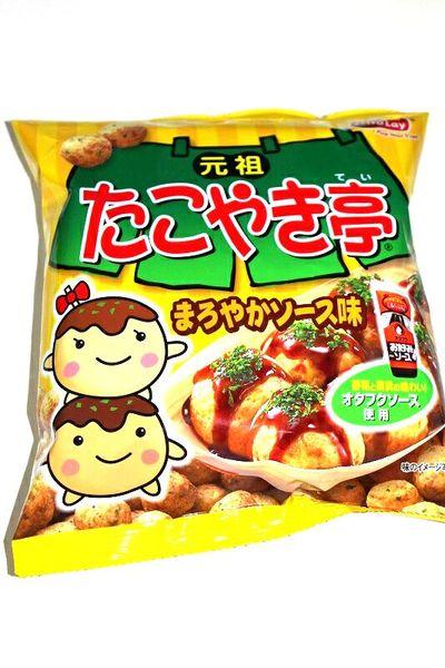Takoyaki Flavor Crunchy Snack Japan Corn Snacks 183 Kawaii