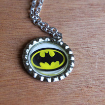 Batman Bottlecap Necklace
