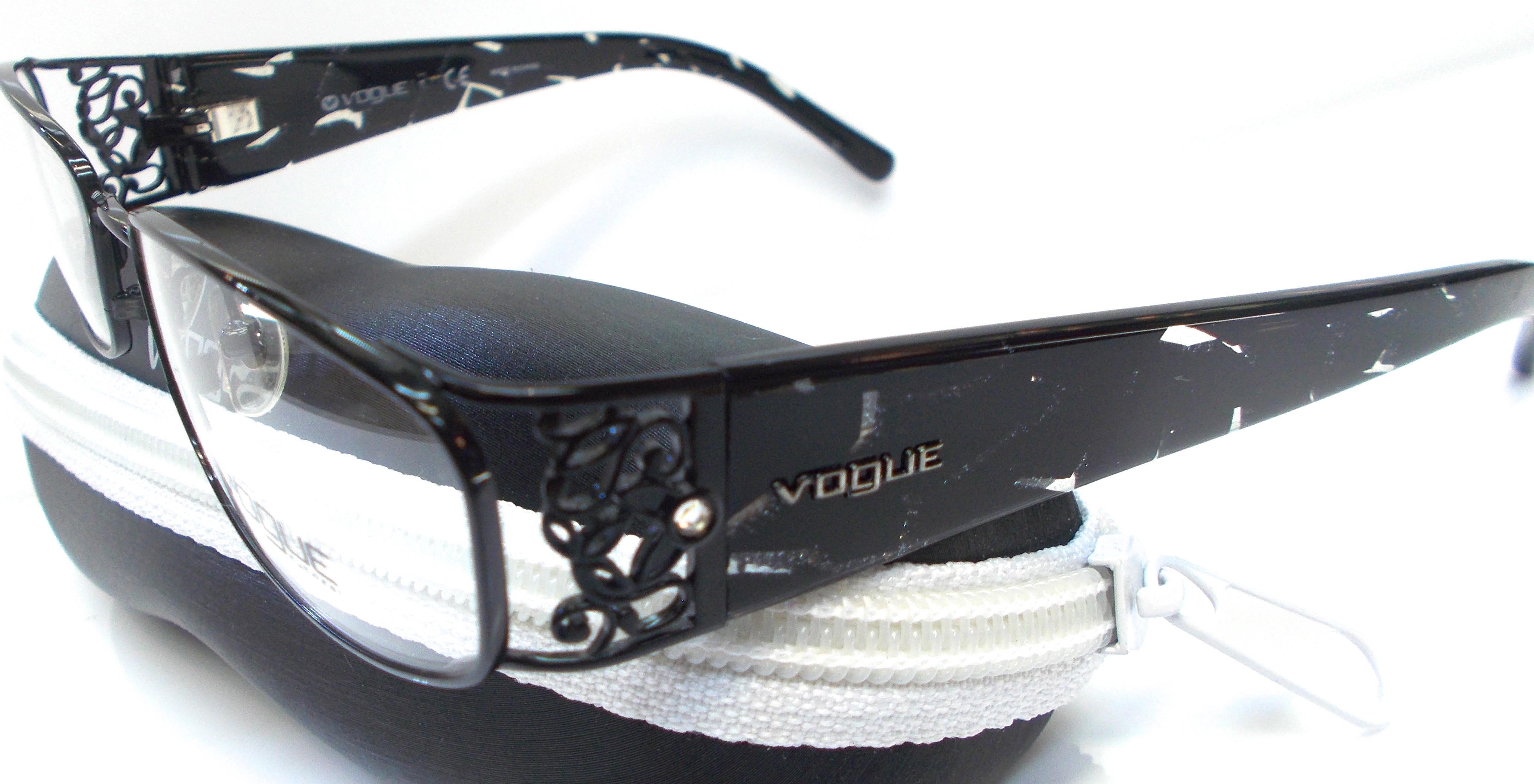 H&S Optical   Vogue Designer Eyewear VO3661 Black   Online Store ...