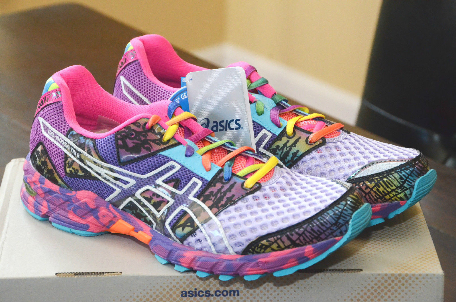 asics gel-noosa tri-9 womens running shoes