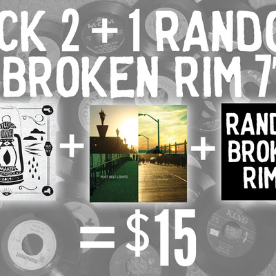 "7"" package - pick 2 + 1 random"