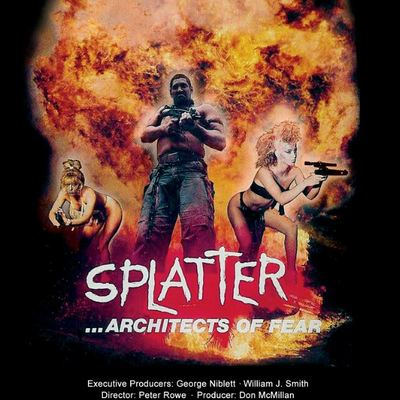 Slasher // video splatter architects of fear dvd sv:006 1986