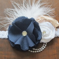Navy Blue (BYU) headband