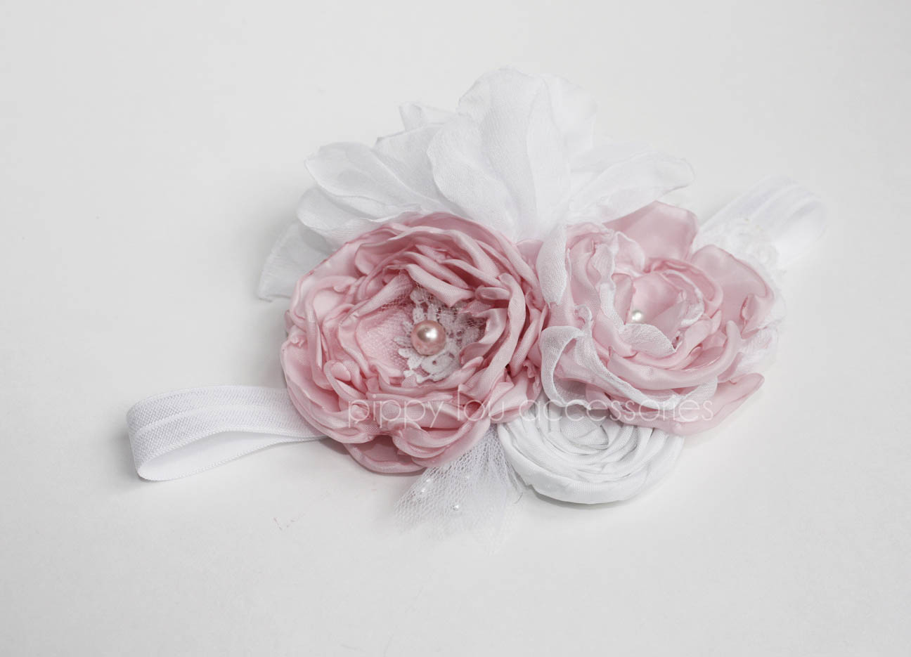 Ruffles N Roses Flower Headband Pippy Lou Accessories Online