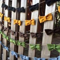 """Pick Your Color"" - TINY Bow Garland"