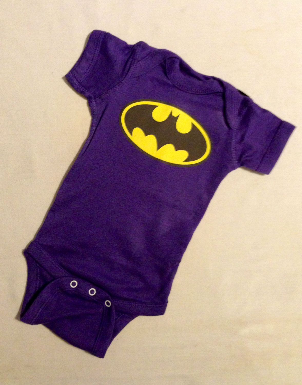 Batgirl Superhero Baby Bodysuit Purple Batman Super Hero Baby Apparel or Costume Bodysuit & Batgirl Superhero Baby Bodysuit Purple Batman Super Hero Baby ...