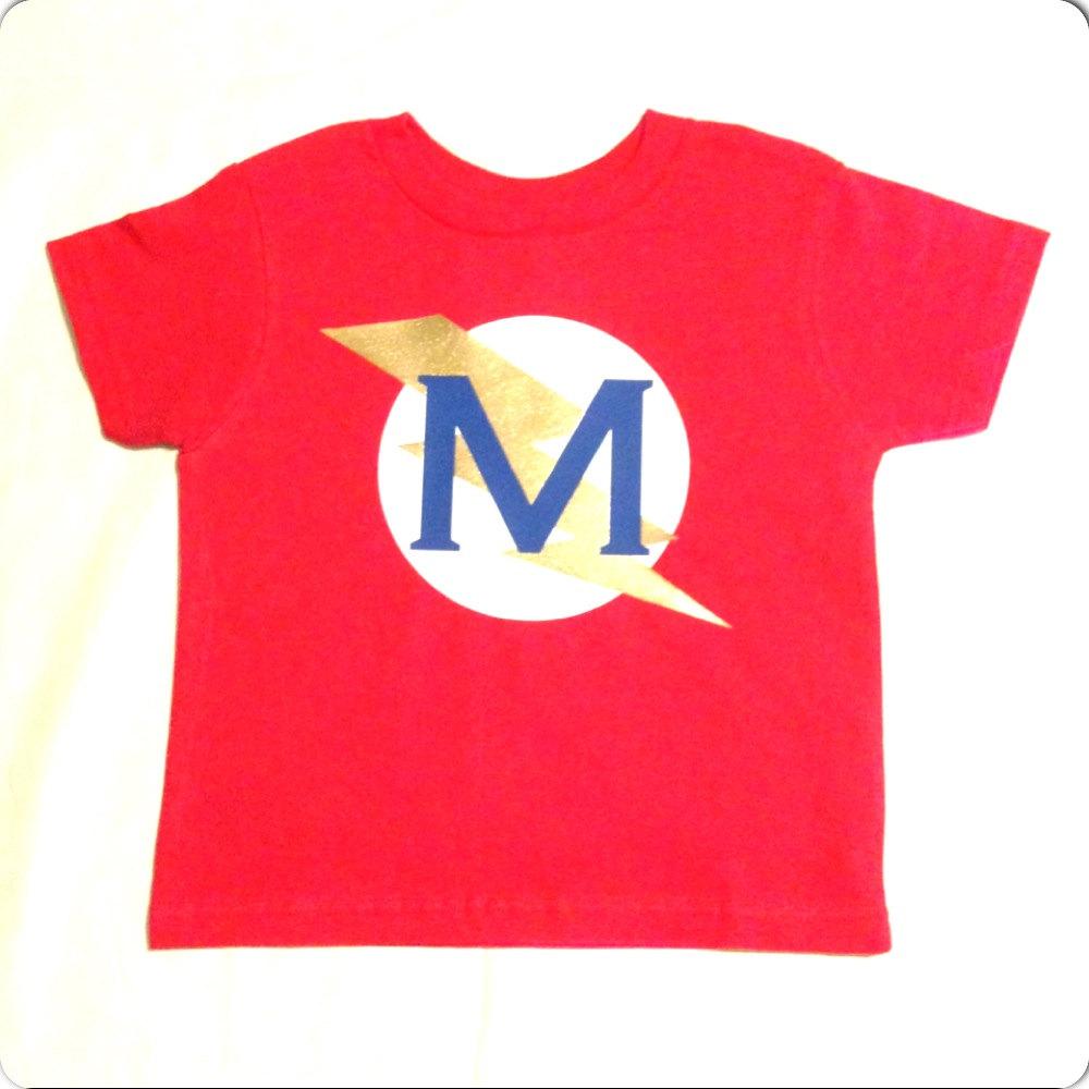 Personalized Superhero T Shirt Custom Super Hero Shirt