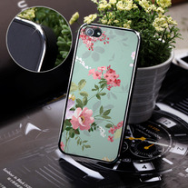 New chic Vintage Colorful Flowers iPhone 5 Case Cover