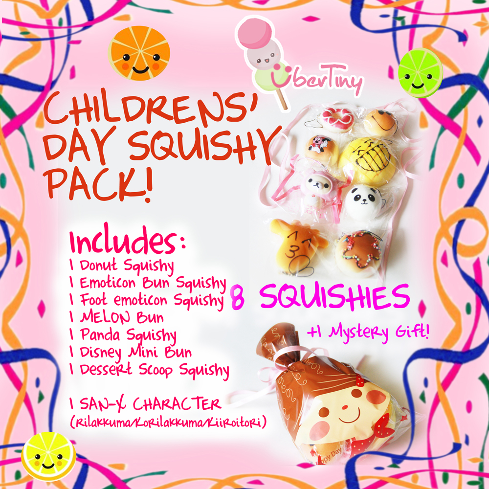Squishy shop sale - 8in 1 Squishy Pack