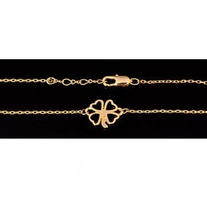 Clover Sign Bracelets - Gold