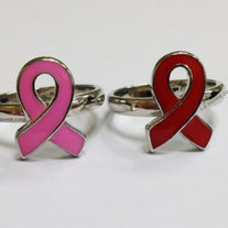 Ribbon Ring (Red) - Thumbnail 1