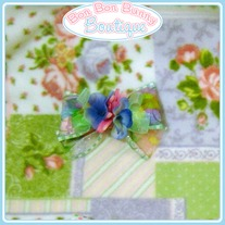 Floral Ribbon Bow