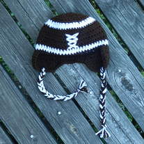 Football Ear flap hat