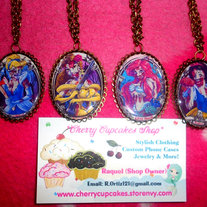 Disney Princess Zombie NECKLACE