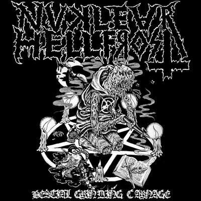 Nuclear hellfrost - bestial grinding carnage flexi 7""