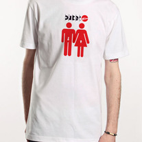 Couple Tee, White