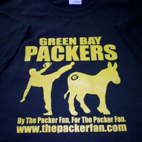 Packers Green Kick A** T-Shirt