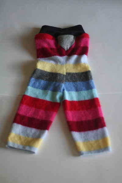 Striped Wool Longies