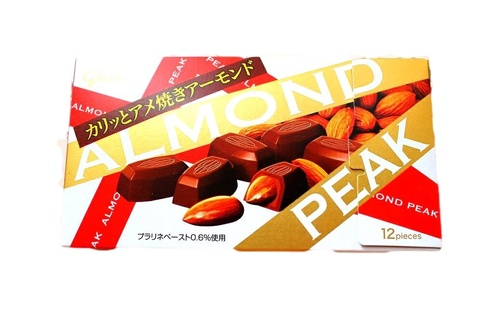Glico Almond Peak Chocolate Japan Candy And Snacks