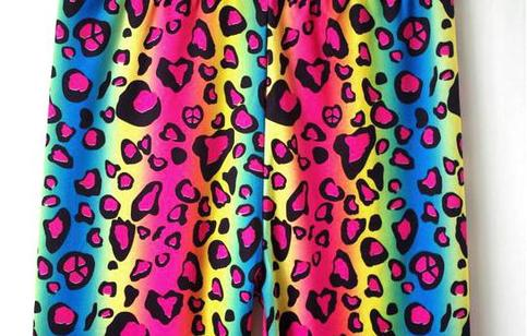 Tights For All Rainbow Leopard Tights Online Store