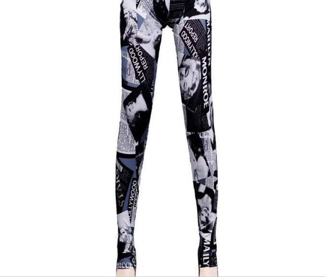 73d5dc399d7c6 Tights for All | Marilyn Monroe Graphic Tights | Online Store ...