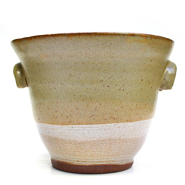 Attirant Ceramic Plant Pot   Large   Natural Beige