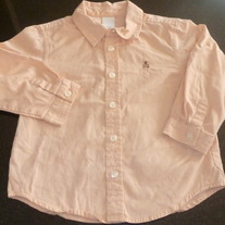 Light Peach Shirt-Baby Gap Size 3T